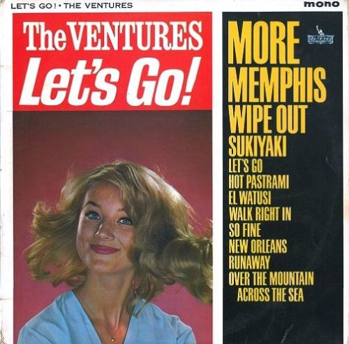 THE VENTURES Let's Go Vinyl Record LP Liberty 1963